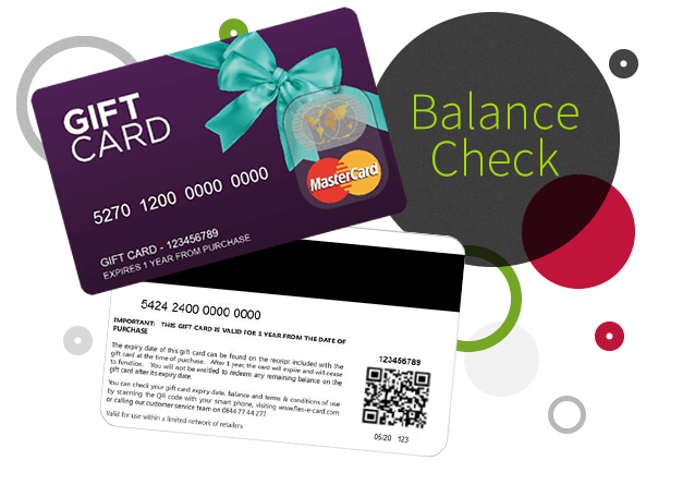 Check my gift card balance - Gift Vouchers, Gift Cards and Gift ...